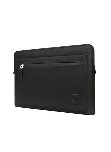 Wiwu Wiwu MacBook Pro Air Retina Laptop Kese Kılıf Çanta Koruma 13.3 inç Sleevebag Zipper Darbe Emici Siyah